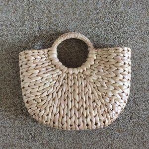 Handbags - Straw bag